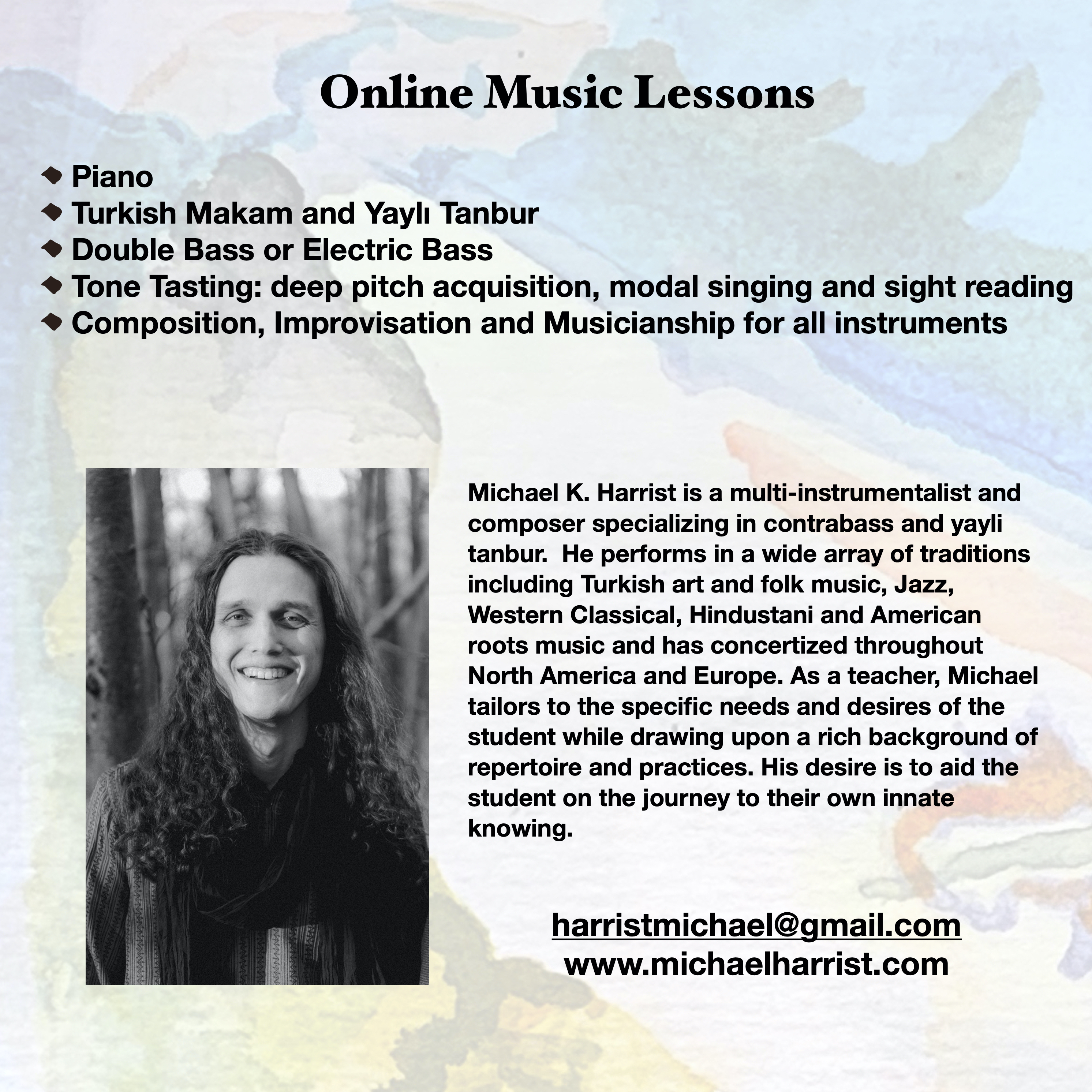2020 teaching flyer